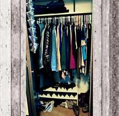 Centering The Nest: My Closet