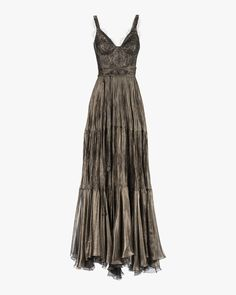 Kendi Lace-Trimmed Mousseline Gown by Maria Lucia Hohan Pretty Outfits, Pretty Dresses, Cool Outfits, Ball Dresses, Prom Dresses, Evening Dresses, Look Fashion, Fashion Outfits, Fairy Clothes