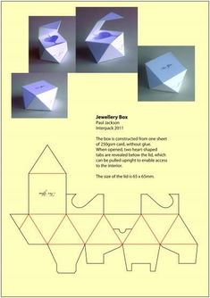 #jewelly-packaging #template-box