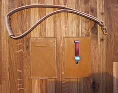 Xmas presents for men - hand made leather goods for men...