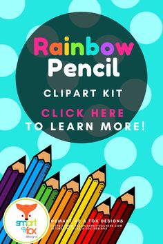 This vibrant kit includes 18 Pencil Doodle School Supply Clipart images created in Adobe Illustrator. The images are high resolution at 300 PPI, which ensures high quality. They are perfect for decorating personal or commercial worksheets, digital products, or product covers! Click to find out more! #teacherspayteachers #schoolsupplies #backtoschool Math Clipart, Science Clipart, Teaching Resources, Teaching Ideas, Back To School Clipart, Kindergarten Themes, Fox Design, Elementary Education, Clipart Images