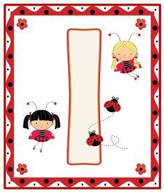 Lady Bug, Ladybug Picnic, Alfabeto Animal, Alphabet For Kids, Alphabet Soup, Tangram, Bedtime Prayer, A Bug's Life, Class Decoration
