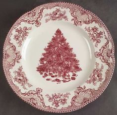 Old Britain Castles-Pink Christmas (England 1883) - Replacements Ltd. - Oh my word I love this pattern!