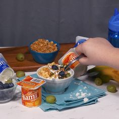 Yami Yogurt is fun for the whole family! Add your favorite topping to any Li'l Yami flavor for the perfect back to school breakfast. Back To School Breakfast, Best Breakfast, Recipe Of The Day, Videography, Yogurt, Meals, Fun, Meal, Lunches