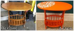Website with tons of upcycled furniture! This girl has some amazing before and afters!