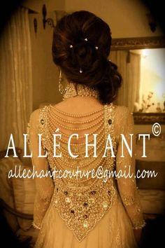 Allechant: - i love this design Asian Wedding Dress, Pakistani Wedding Outfits, Pakistani Bridal, Bridal Outfits, Pakistani Dresses, Indian Bridal, Indian Dresses, Indian Outfits, Bridal Dresses
