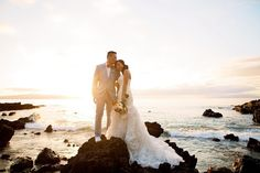 So much joy and beauty at this #mauiwedding at #kukahikoestate on #maui …