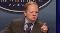 "The critical consensus is that Melissa McCarthy nailed her impression of Sean ""That Gum You Swallow Is Coming Back Into Style"" Spicer on Saturday Night Live last month. She displayed the same short fuse, veneer of sweat, and inability to summon words as the White House press secretary. Spicer has pr"