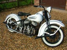   1947 Harley Davidson WL45 Classic Motorcycle pk