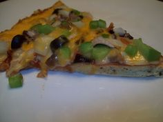 Doughless Deluxe Low Carb Pizza