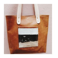Zeppelin, Handmade Leather, Slow Fashion, Tote Bag, Stars, Unique, Collection, Totes, Sterne