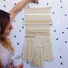 Maryanne Moodie - tissage - laine