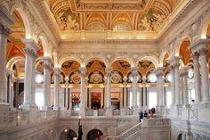 Library of Congress interior, Washington DC, #Library, #Washington #DC