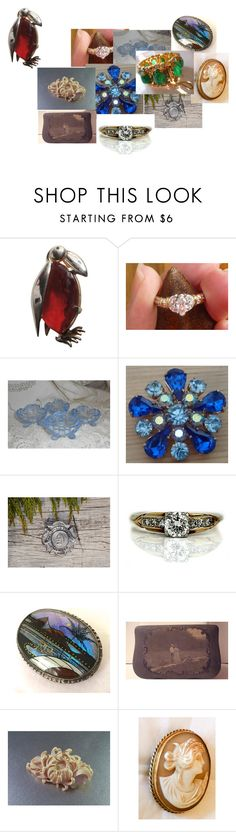 """""""The Penguin's Dilemma!"""" by ourboudoirkate ❤ liked on Polyvore featuring Jelly Belly, Caprice, Ceres, Hobé and vintage"""