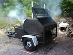 fuel oil tank smoker I saw this years ago, along with pictures, step by step of just how they built it... I've been trying for DAYS to find the original site, and I'm having no luck... all the sites are like this, they show the one pic, and give no credit to where it came from