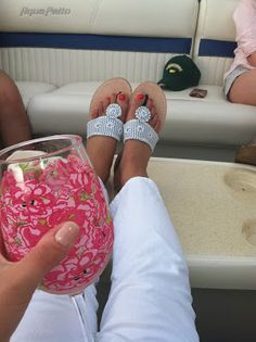Summer Wind// Country Squire Haberdashery Palm Beach Sandals