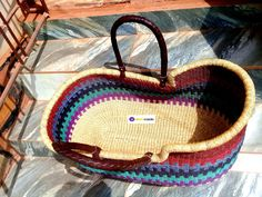 Moses Basket, Small Stuff, Bassinet, Acrylic Nails, Brewing, Straw Bag, Baskets, Hand Weaving, Sew