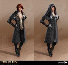 Bruno Gauthier Leblanc - Deus Ex Mankind Divided - Mistery Woman