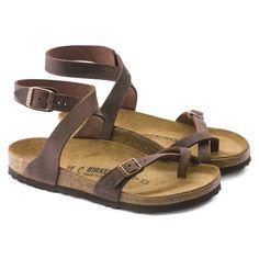 b3dc79e3d Yara Oiled Leather Habana sz 7-7/5 reg Birkenstock Yara Sandals, Overalls