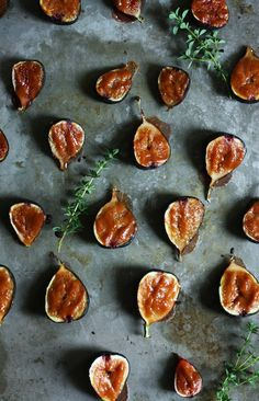 Flavorful figs with a miso glaze are broiled to perfection. They make a super easy appetizer! | Set the Table