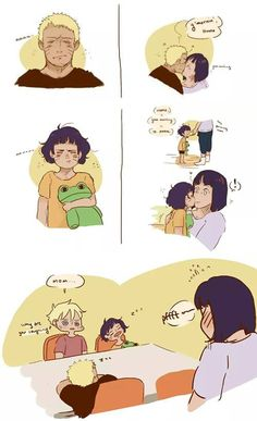 Naruto--I was just reading on how himawari is the fem.naruto