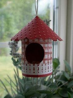 bird house - use coffee can