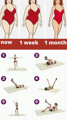 Gym Workout For Beginners, Gym Workout Tips, Fitness Workout For Women, Sport Fitness, Easy Workouts, Fitness Diet, Workout Videos, Tummy Workout, Slim Waist Workout