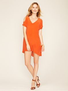 Kimberly Silk Cut Out Dress by The Cue on Gilt.com