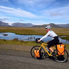 Iceland cycling!