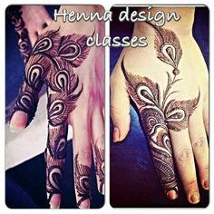 Emirati style from Henna Design Classes on FB