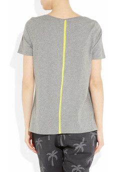 Grey-T with neon detail