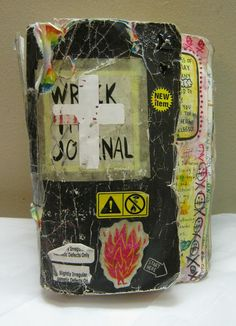 Trina is artsy fartsy: Wreck This Journal Part Four