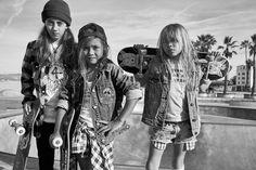 Skater girls, Photographer Christin Rose