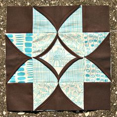 @Elizabeth Dackson combines the beauty of a cathedral window pattern with the intricacy of a star quilt for a new quilt block pattern that's just heavenly! Any quilt will look more elegant with this block pattern included.