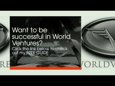 How to Make Money with World Ventures: Special Guide I here to get you started give me a call 3057884447 or email me carolinaorozco@live.com subject line I WANT FREEDOM