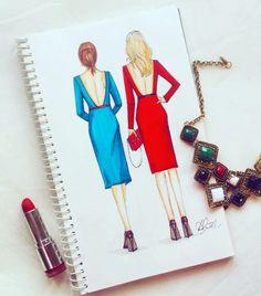 #fashion #illustration #gossipgirl