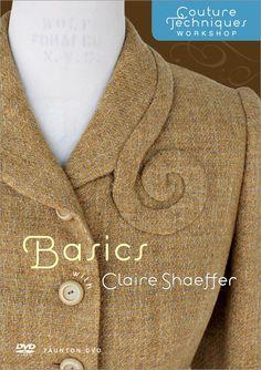 Couture Techniques Workshop Basics With Claire Shaeffer: Amazon.de: Küche & Haushalt