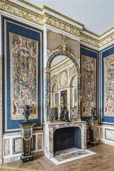 Living room in the hotel Le Bas de Montargis. Paris, 1705-1707. Paris, Musée du Louvre                                                                                                                                                                                 Plus