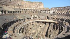 Inside Look at the Historic Colosseum in Rome, Italy #history #Colosseum #Rome #Italy #travel #tourism #education #video