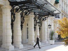Shangri-La Hotel Paris in Paris, France Paris Hotels, Hotel Paris, Paris Paris, Shangri La Paris, Shangri La Hotel, Porches, Resorts, Porch Entry, Marquise