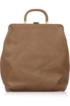 Marni|Leather tote
