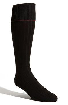 Men's Nordstrom Over the Calf Pima Cotton Blend Socks