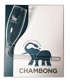 Chambong - Glassware for rapid Champagne consumption Chambong http://www.amazon.com/dp/B00XV5VXSO/ref=cm_sw_r_pi_dp_1sgaxb12WWQW5