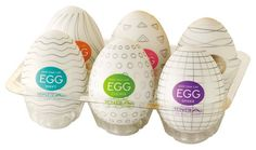 The super stretchable elastomer concealed within each TENGA EGG expands drastically for a snug fit regardless of your size. Makes a fantastic gift and a great way to bring some extra fun into the bedroom!