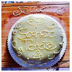 Pan di pizza: Sacher torte au chocolate blanc