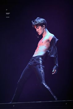 Kim Jongin: *nose bleeds violently, pregnant, cries, dies, chokes, wheezes etc*
