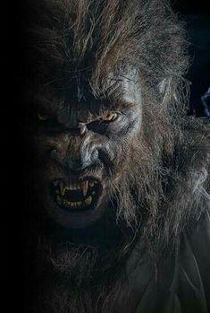 Werewolf Makeup, Werewolf Art, Arte Horror, Horror Art, Fantasy Creatures, Mythical Creatures, Dark Fantasy, Fantasy Art, Superman Pictures