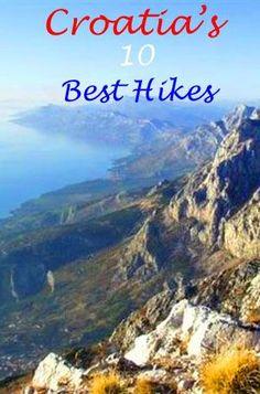 Views from Biokovo Mountain. http://bbqboy.net/croatias-10-best-hikes/  #croatia #hiking