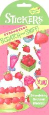 Strawberry Scratch & Sniff! Stickers