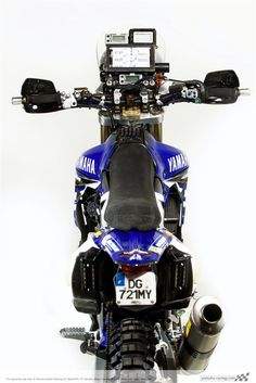 2015 Yamaha WR450 Dakar Bike (1)